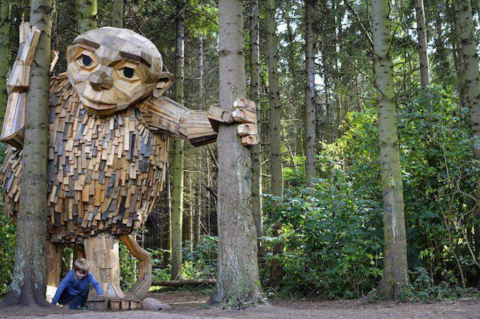 Les géants de la forêt - Thomas Dambo