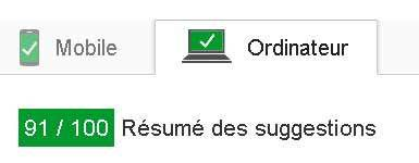 Site internet plus rapide
