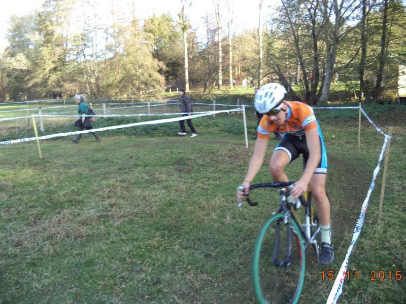 Nouveau podium pour Killian Menglier au cyclo-cross d' Ainay le château
