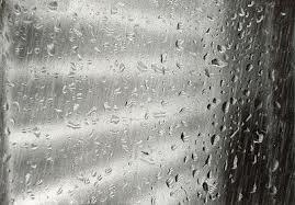When tears drop, the rain-drops!