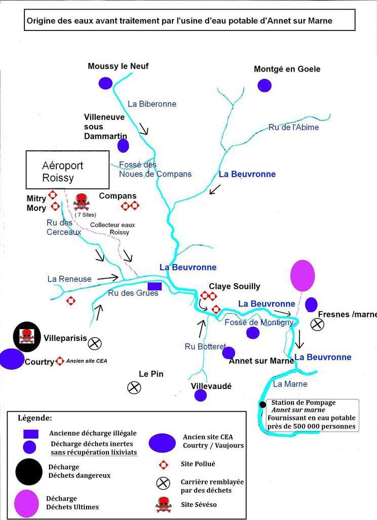 Où sont passés le 90 millions d'euros pour dépolluer la Beuvronne: les syndicats qui gèrent cette rivière doivent rendre des comptes !