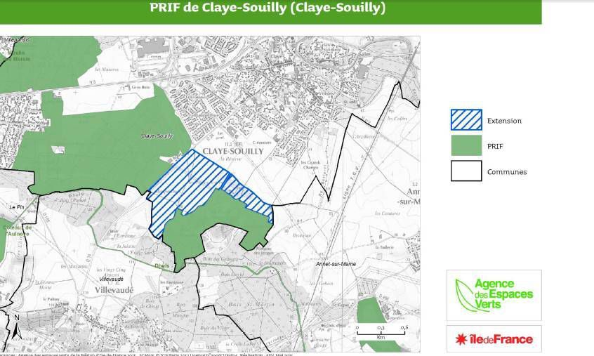 Extension PRIF Claye-Souilly