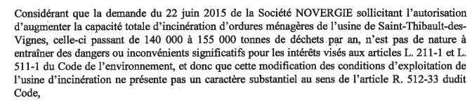 « Petit peuple » du nord-ouest 77 le préfet Jean-Luc Marx prend soin de votre santé : il augmente la capacité d'incinération de l'usine d'ordures ménagères de St Thibault des Vignes