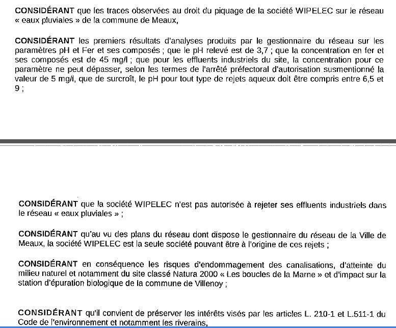 Meaux près de la crèche : pollution des eaux pluviales par Wipelec, Jean-François Copé doit s'expliquer !