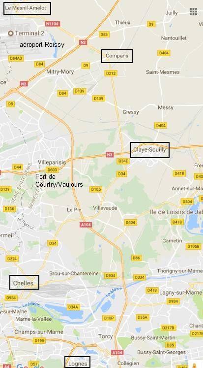 Après la décharge Veolia de Claye-Souilly c'est aujourd'hui un grave incendie qui s'est déclaré dans la zone industrielle de Chelles!