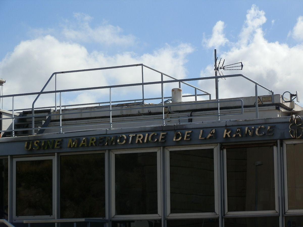 Barrage de la Rance juin 2015