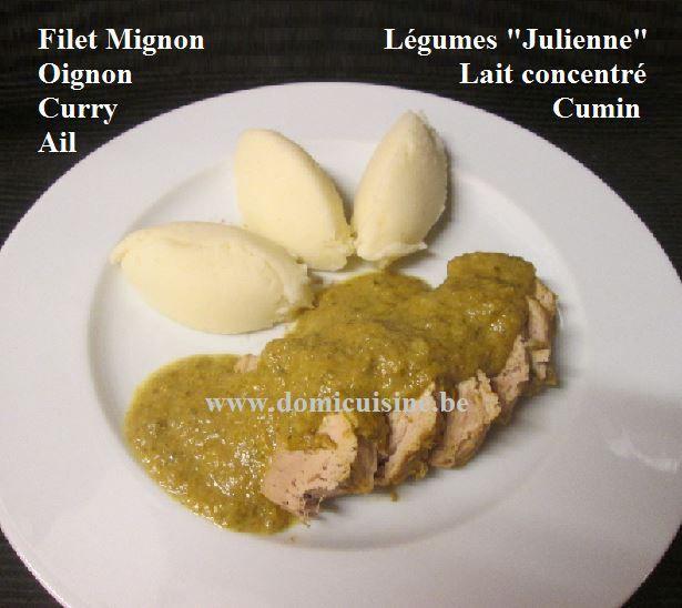 WW: Filet Mignon de Porc Façon &quot&#x3B;Julienne&quot&#x3B; ...
