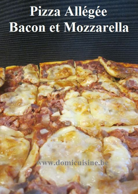 ww: Pizza Allégée au Bacon ...