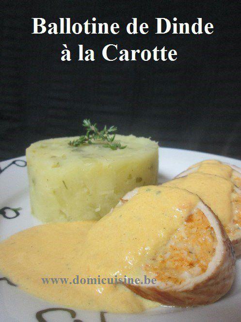 WW: Ballotine de Dinde aux Carottes ...