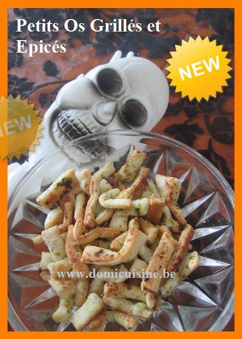 Halloween: Petits Os Grillés et Epicés ...