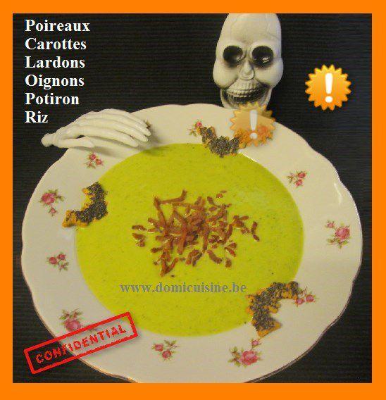 Halloween: Velouté de Chauve Souris Broyées ...
