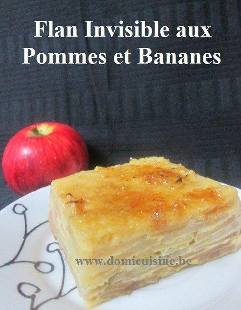 ww: Flan Pommes/Bananes comme un Invisible ...