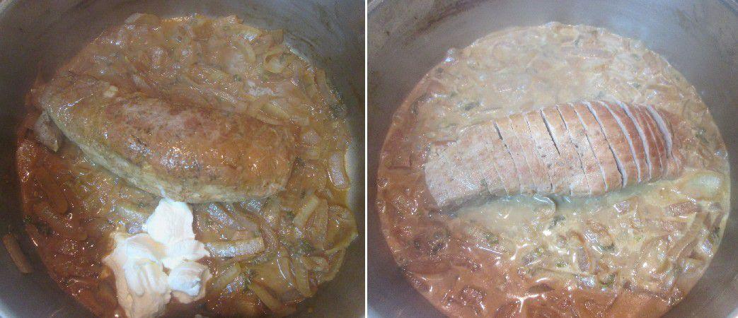 Filet Mignon de Porc à la Crème Moutarde, Cumin et Menthe ...