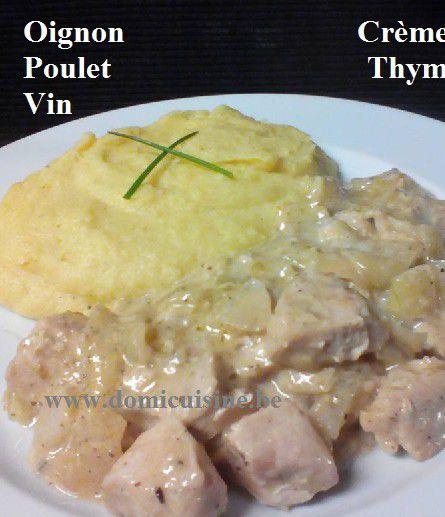 Ragoût de Poulet au Vin Blanc et Oignon ...