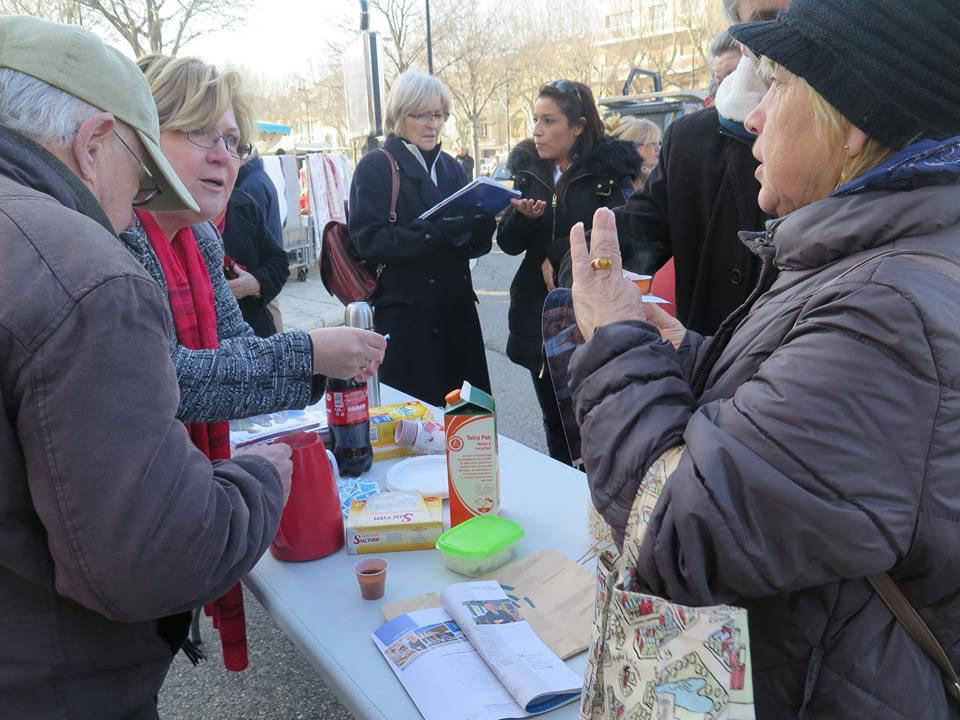 """Campagne des départementales à Orange : Liste """"entente citoyenne"""""""