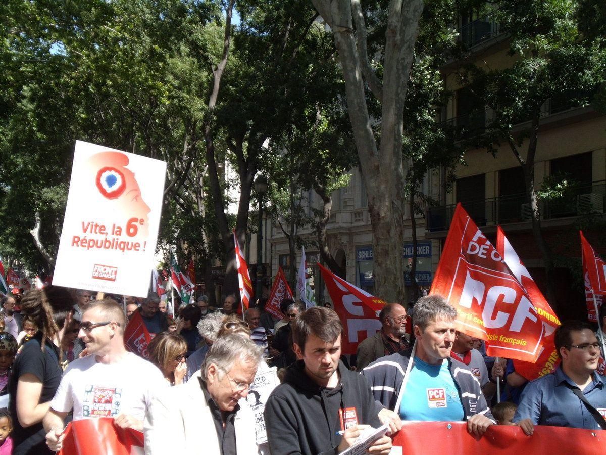 Marche pour la 6ème République - Nîmes
