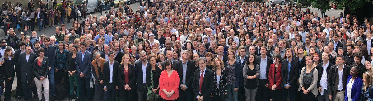 Les candidats réunis en convention le 13 mai à Villejuif