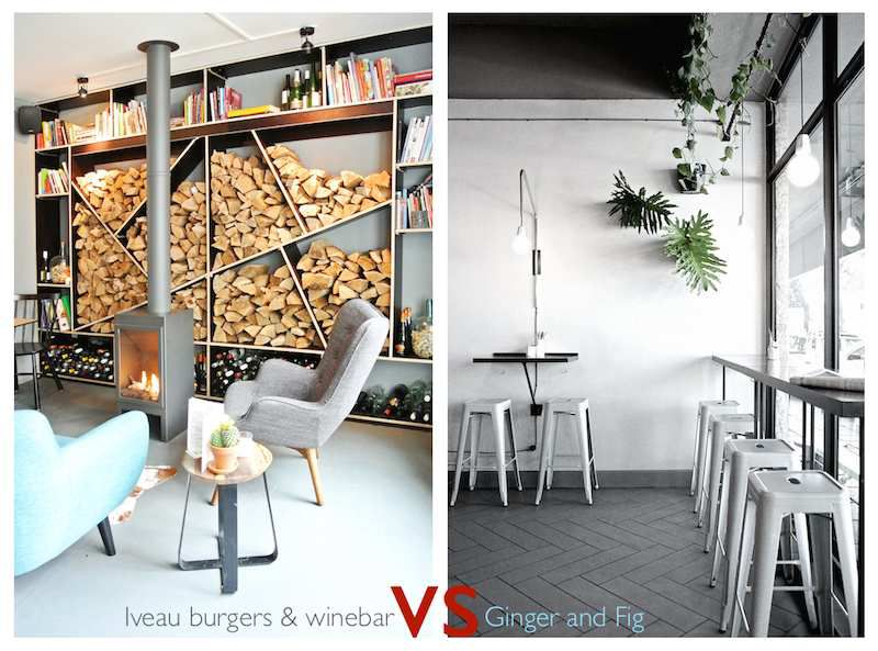 Ginger and Fig VS Iveau Burgers & winebar