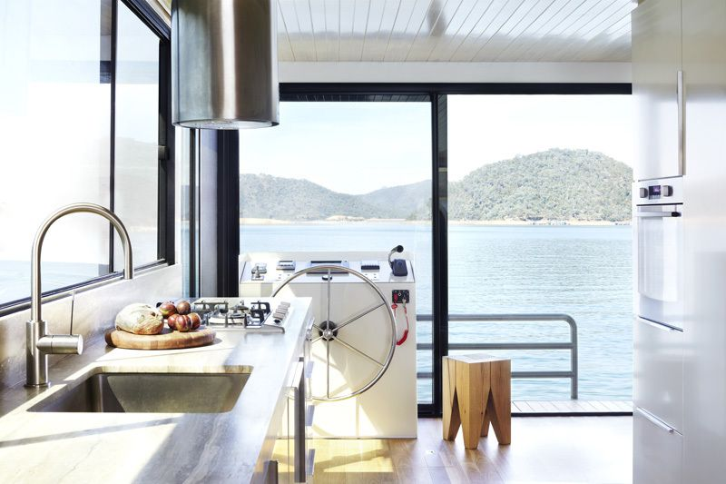 Houseboat en Australie