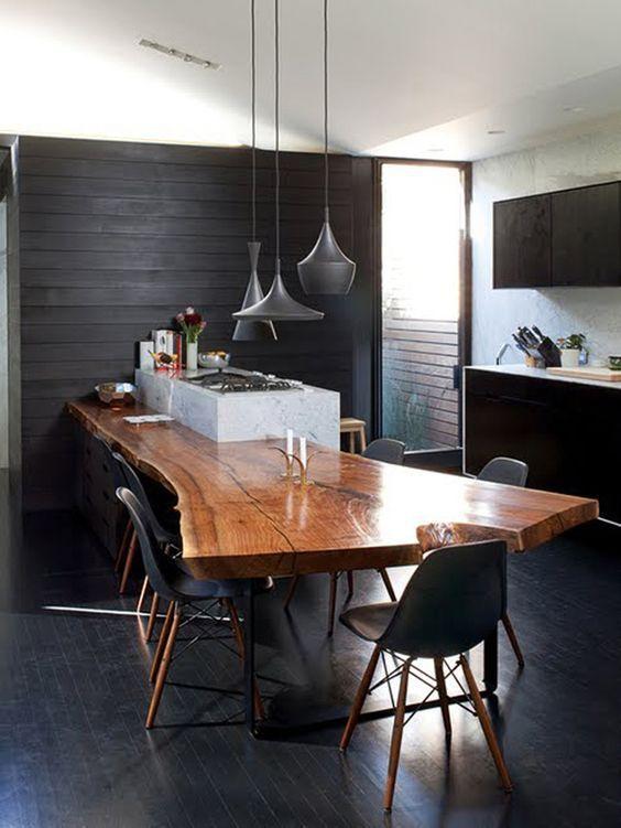 Turbo Quelle table pour une cuisine avec ilot central ? - A part ça  QL44