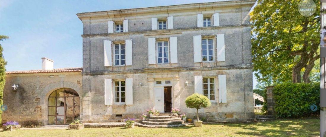 Maison de maître en Saintonge