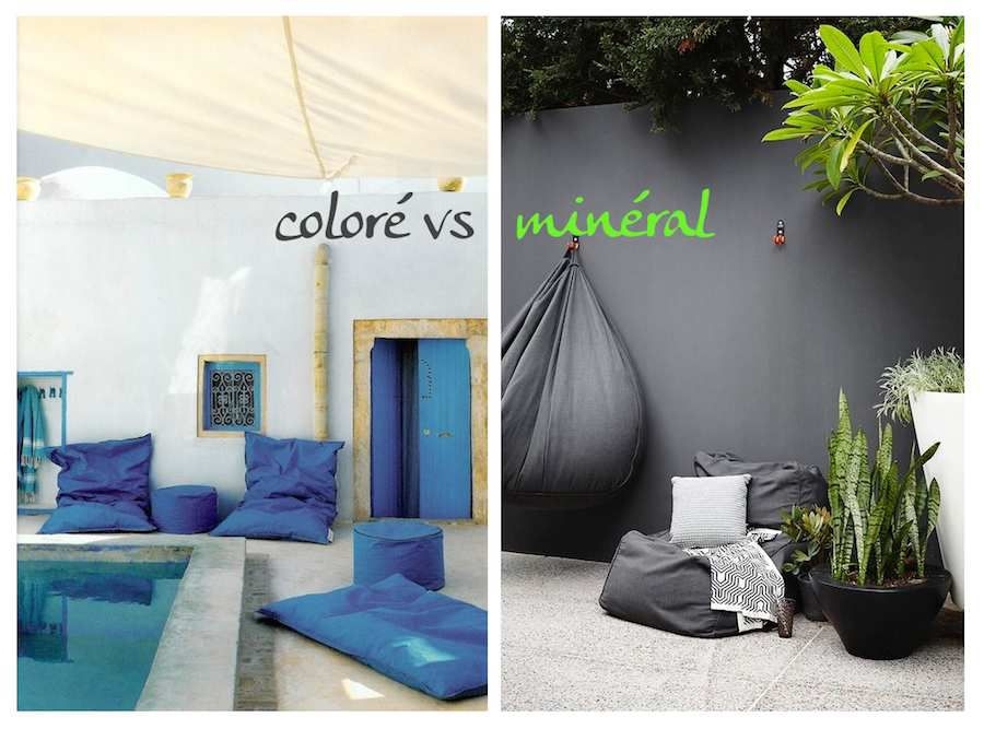 match d co ambiance color e ou min rale pour la terrasse a part a. Black Bedroom Furniture Sets. Home Design Ideas