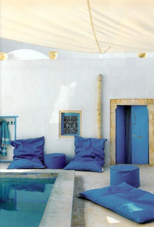 Match d co ambiance color e ou min rale pour la terrasse - Deco terrasse la terrasse de style iles grecques et mediterraneen ...