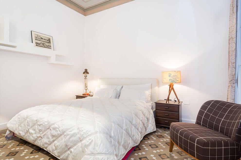 Un appartement ancien à Barcelone