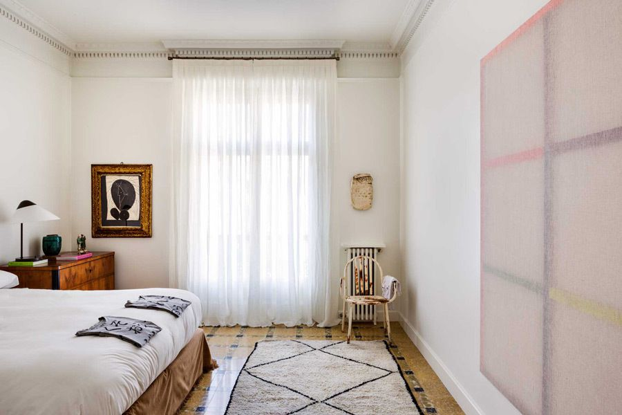 Un appartement chic et arty à Barcelone