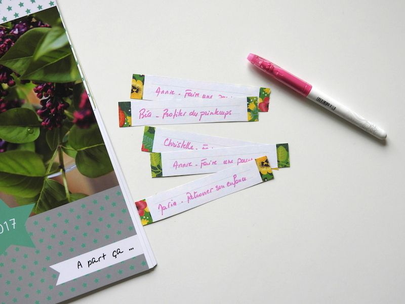 Calendrier - made with love