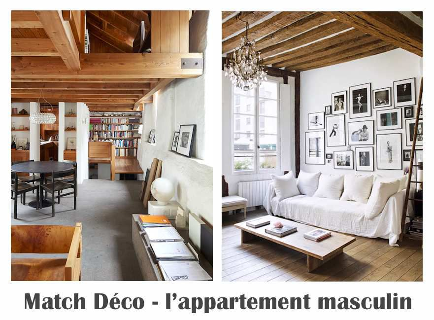 Match Déco - l'appartement masculin