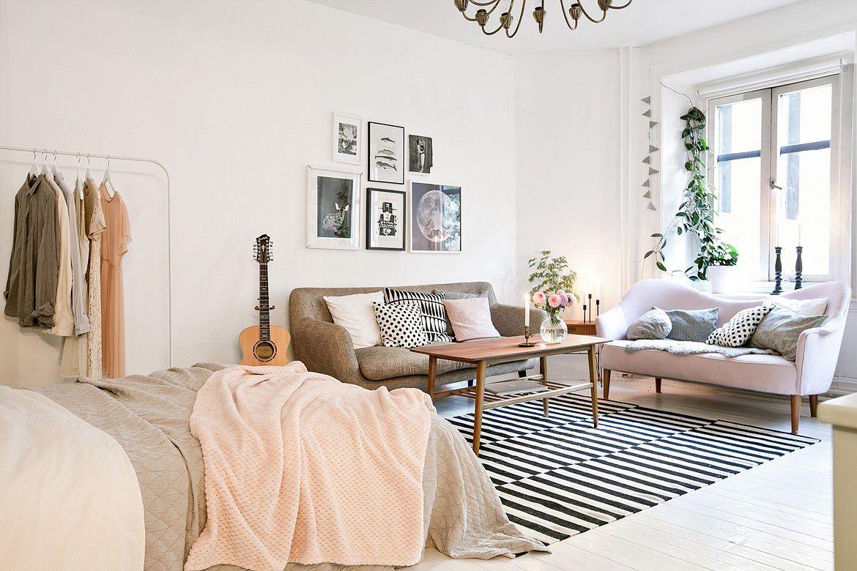 Une chambre dans le salon