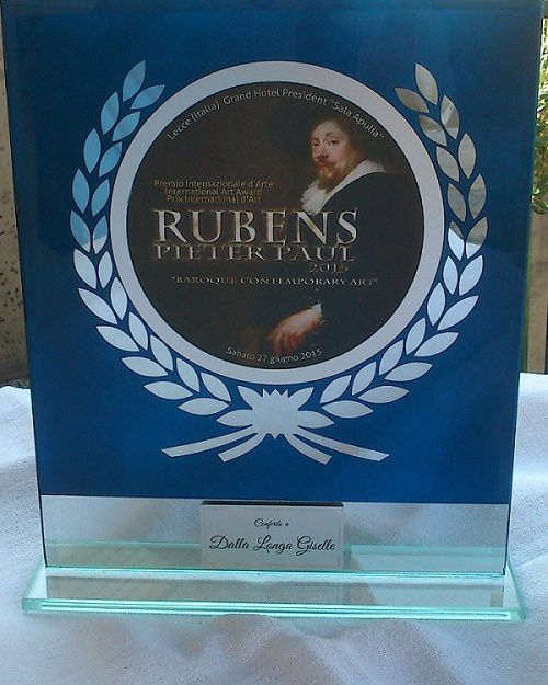 Prix International d'Art Rubens 2015  Livre d'Or