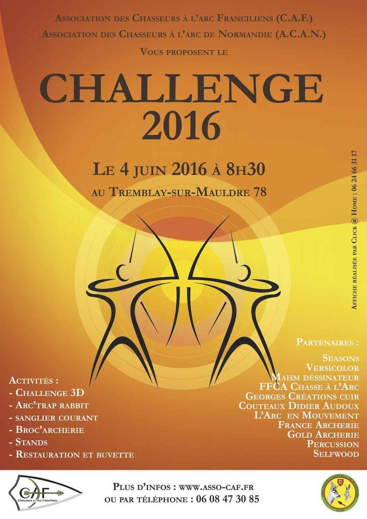 CHALLENGE CAF/ACAN