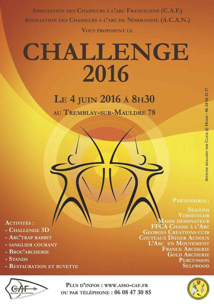 Challenge CAF / ACAN 2016