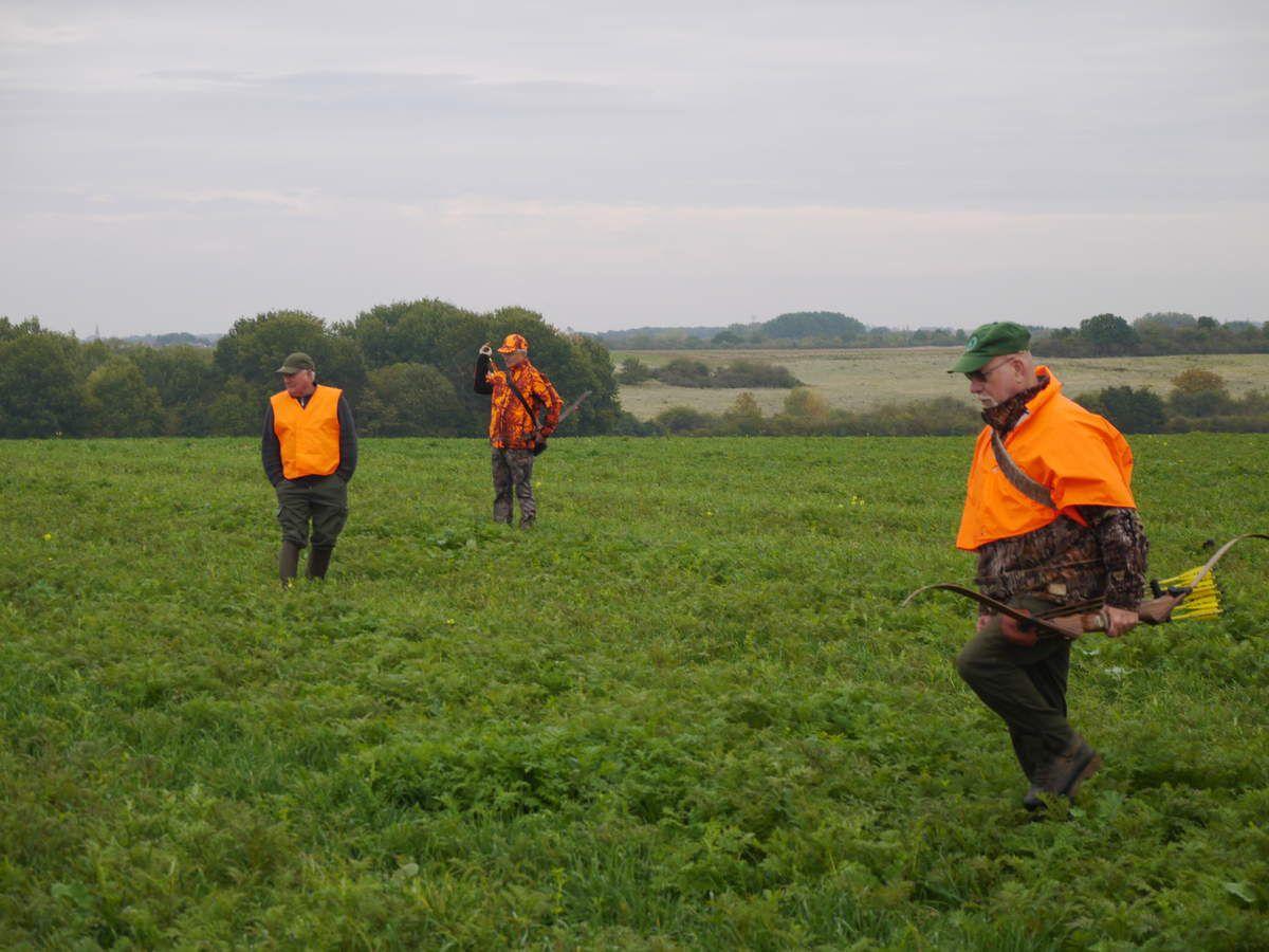 Première chasse au lièvre collective du CABS
