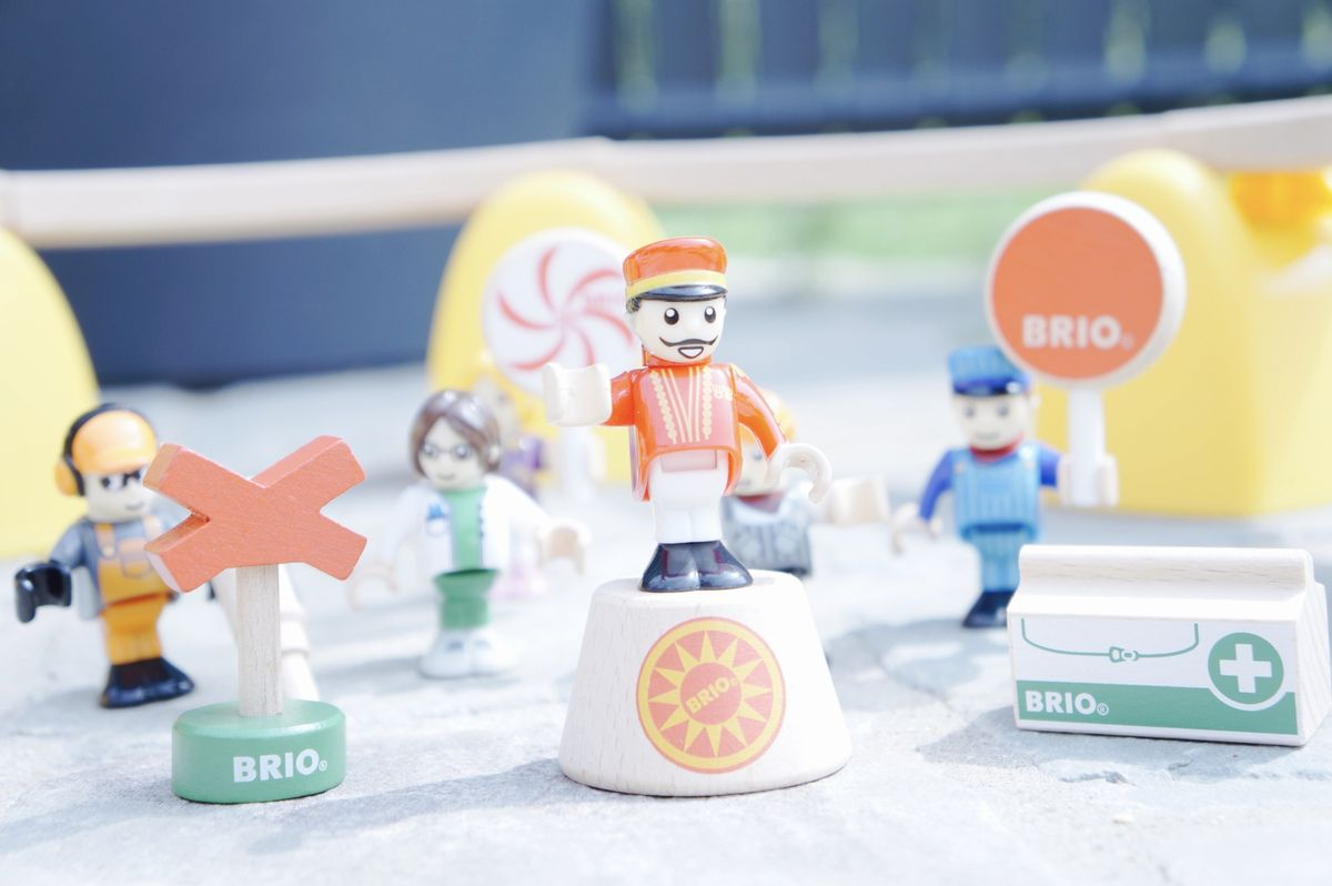 Test'Ours : Les personnages Brio World