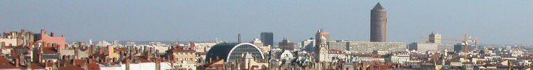 Vue panoramique de Lyon
