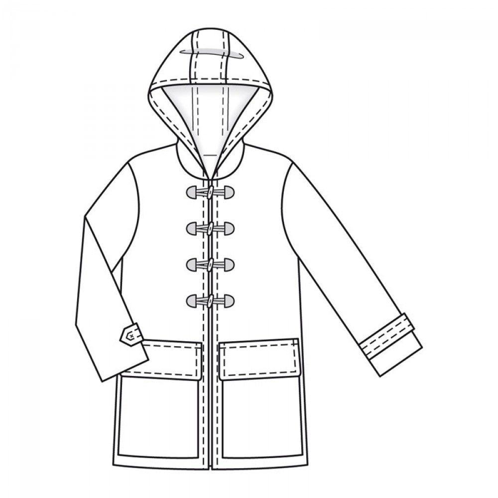 Burda style n°128 de nov 2011, T36 au 44 , long 88 env, drap de laine. A télecharger 4,99 sur le site.