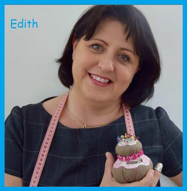 Edith couturière amateur, blogeuse...
