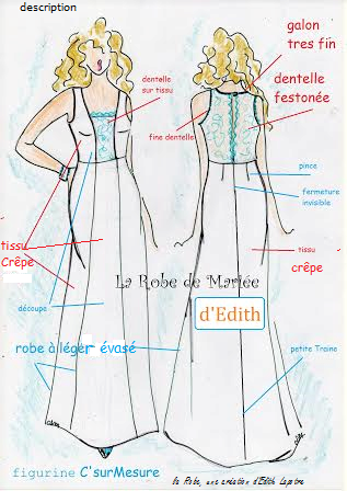 "description de la ""Robe"" seule !"