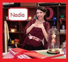 une création de Nadia Zeghloul, gagnante cousu-main 2.