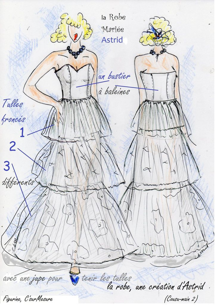 "description de la robe""seule"""