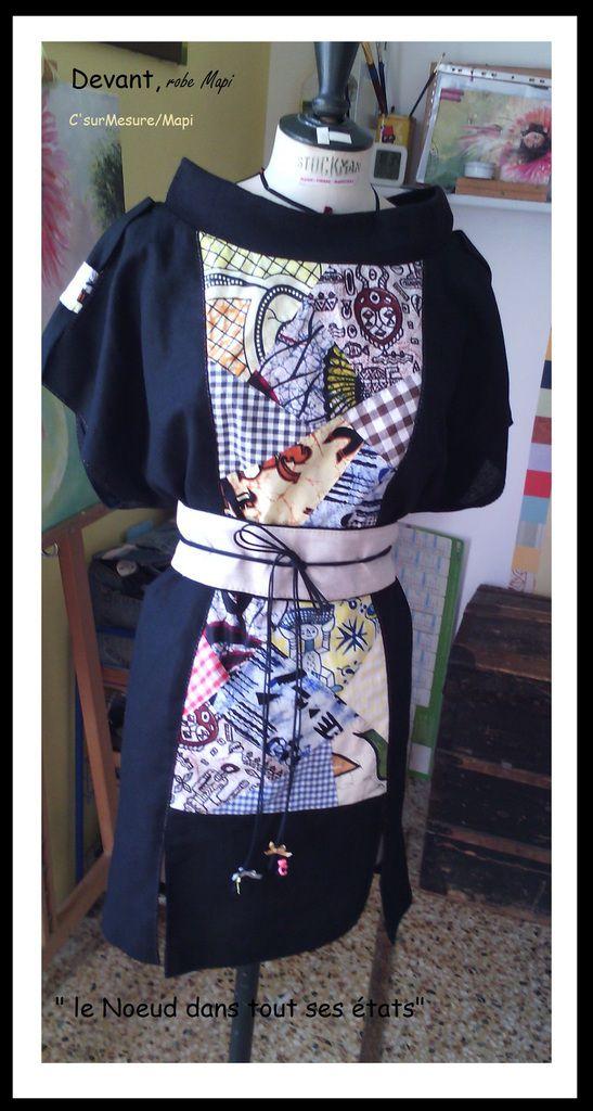 la robe sur Mannequin couture !
