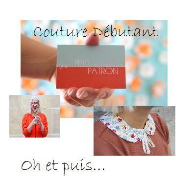 blogs : &quot&#x3B;Couture Dédutant&quot&#x3B;, &quot&#x3B;Oh et puis&quot&#x3B;