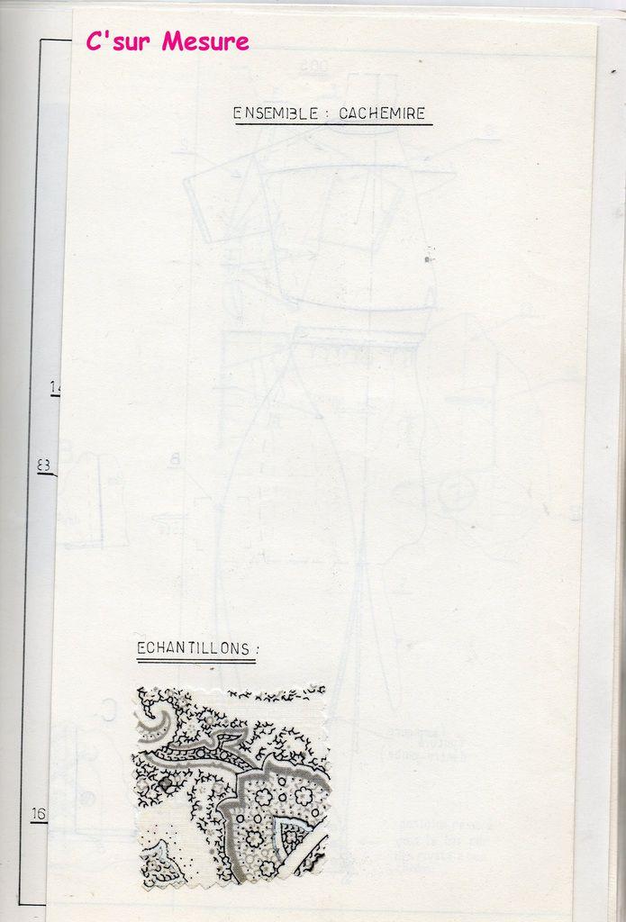 dessins technique, tissu échantillon.