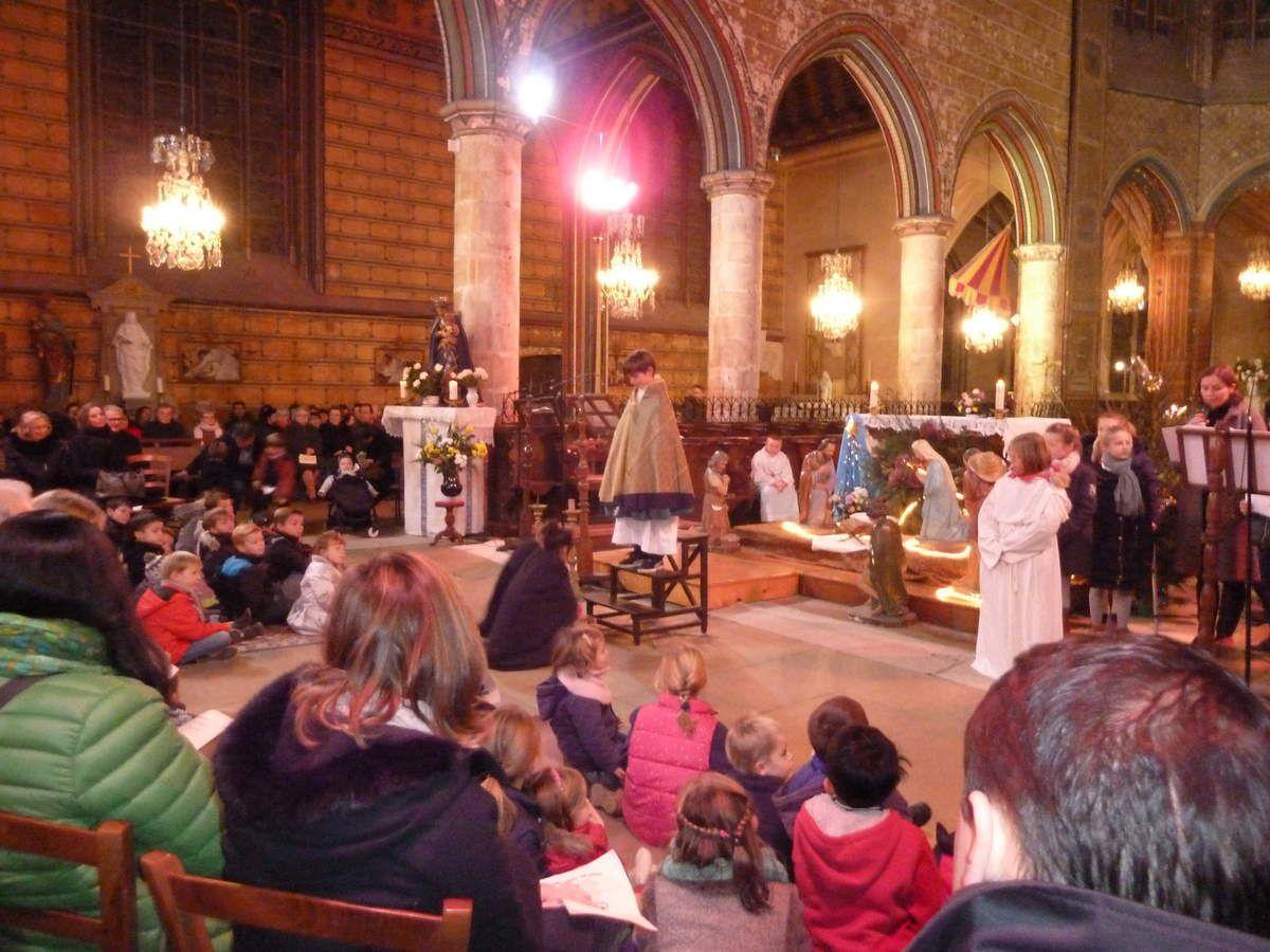 Messe de la nuit de Noël 2016 à la basilique Notre Dame de la Couture