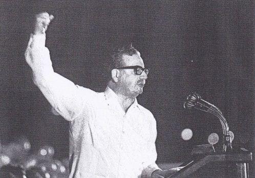 &quot&#x3B;Plus que jamais...Salvador Allende&quot&#x3B; exposition 16 au 30 mai espace Saint Anne