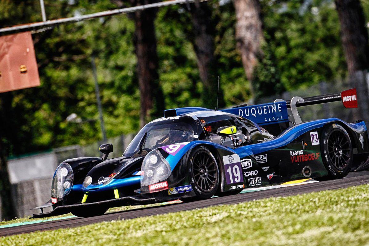 LMP3 du Team Duqueine N°19 sur laquelle Thomas Dagoneau prendra le départ au Mans. (Crédit Photo So24 !).