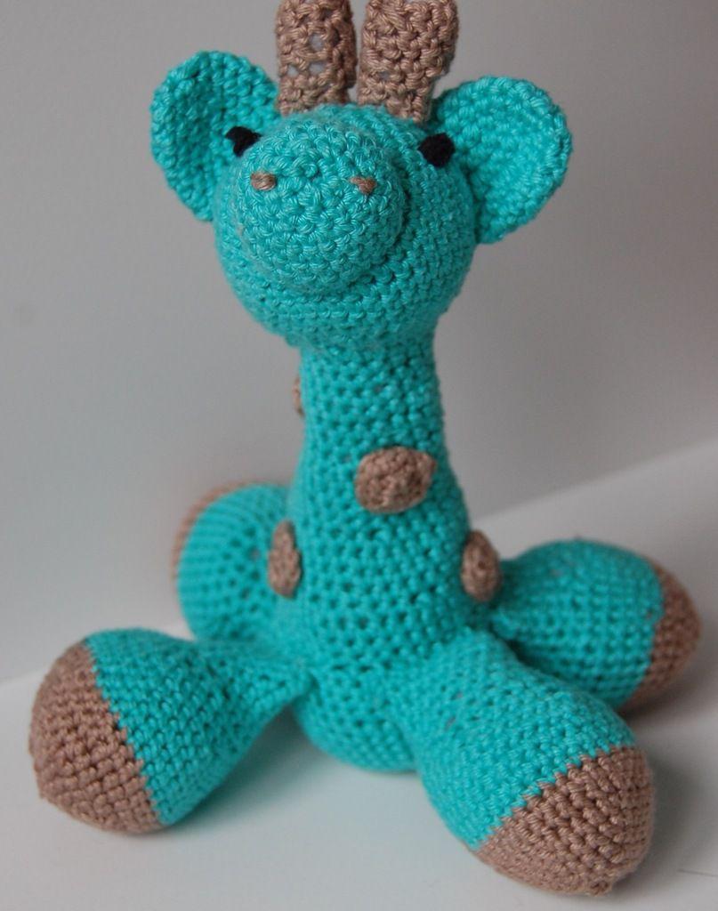 Girafe Amigurumi